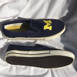 Other - U of M Michigan University slip on shoes.